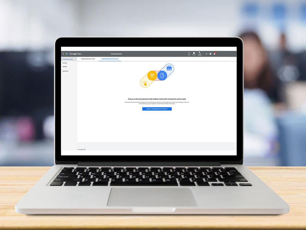 Google Conversion Action Set